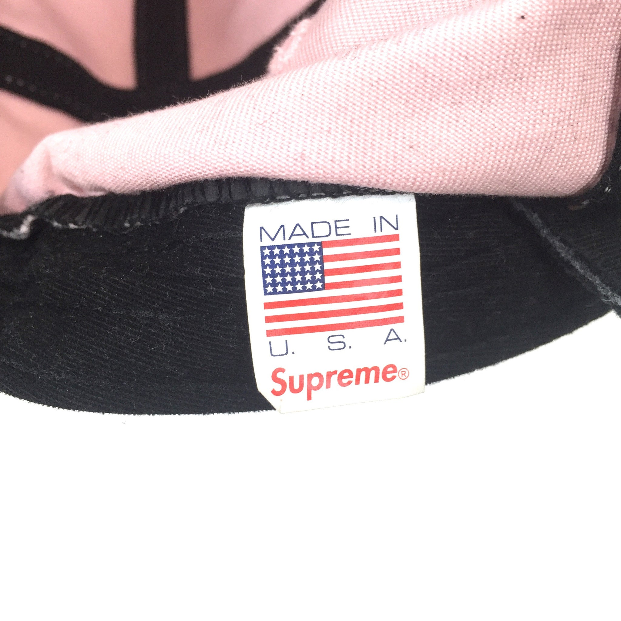 Supreme - Pink Washed Twill Box Logo Hat