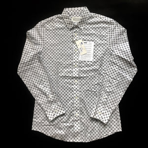 Maison Margiela - Geometric Printed Button Down Shirt