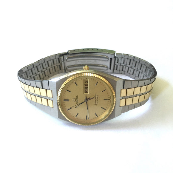 Omega - Seamaster Day-Date 18K/SS Watch