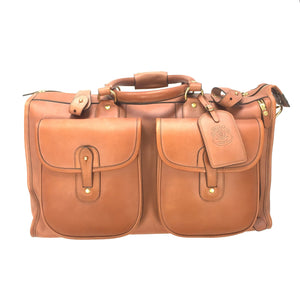 Ghurka - Chestnut Leather Express No. 2 Bag