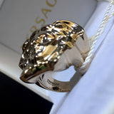 Versace - Gold Palazzo Medusa Ring