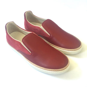 Maison Margiela - Red Slip On Sneakers