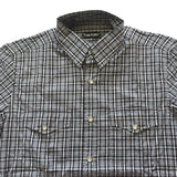 Tom Ford - Shadow Plaid Western Shirt