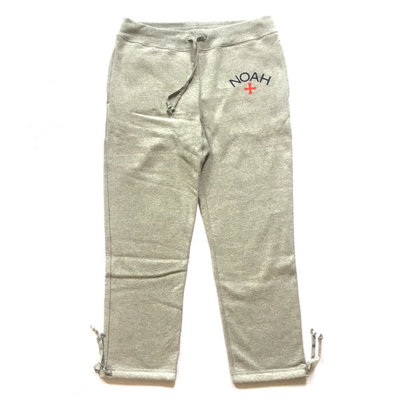 Noah - Gray Core Logo Sweatpants
