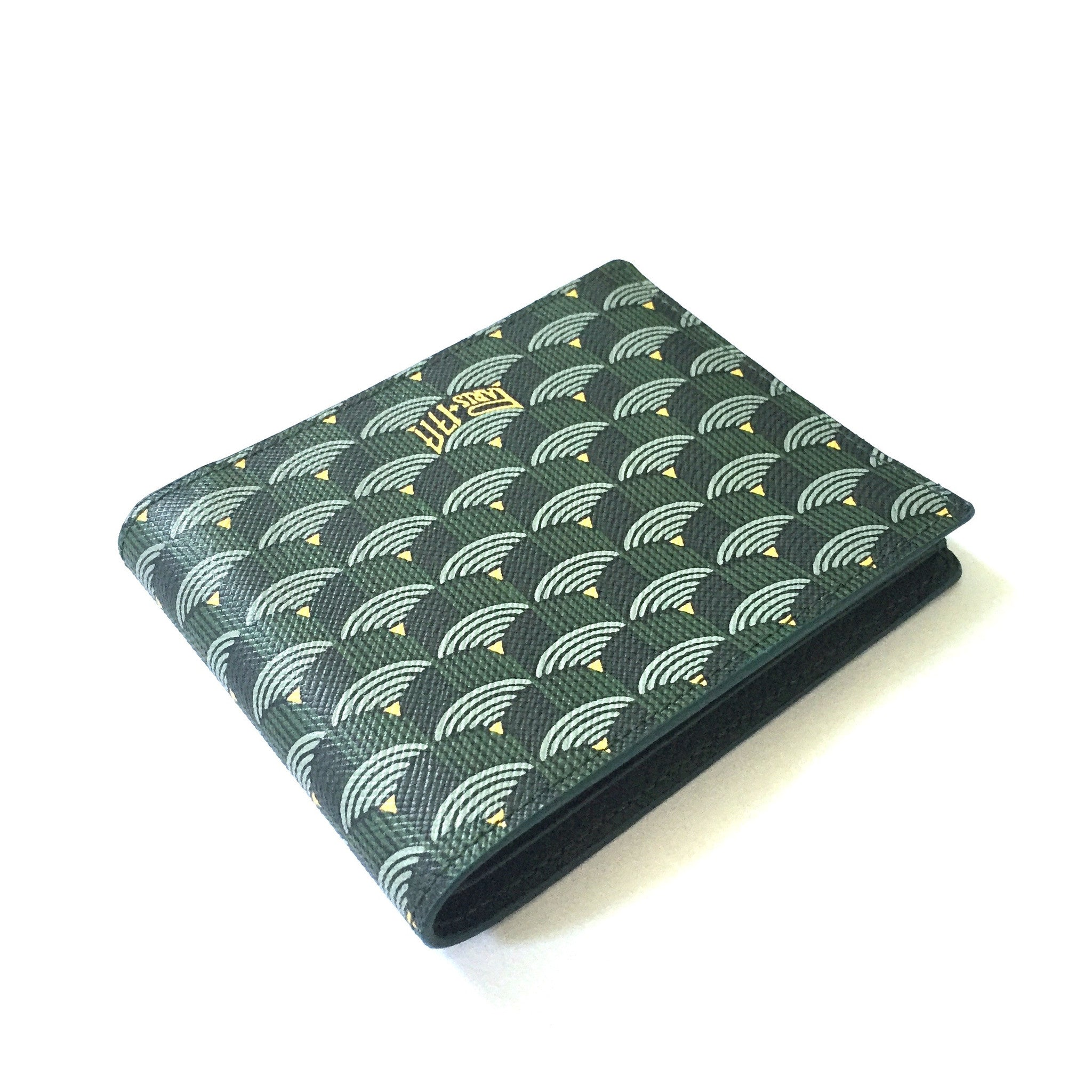 Faure Le Page - Empire Green 6CC Bifold Wallet
