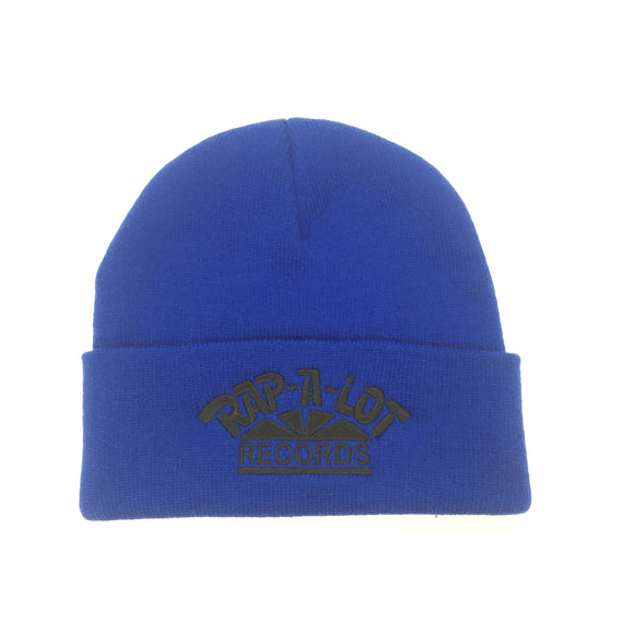 Supreme x Rap-A-Lot - Blue Logo Embroidered Beanie