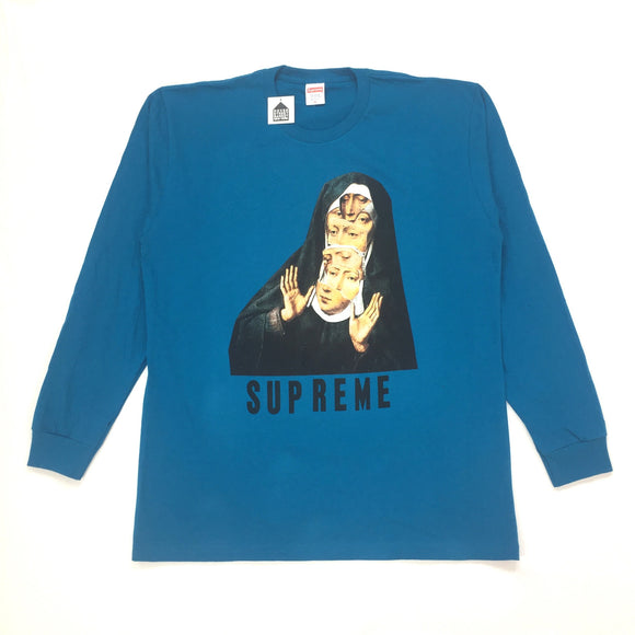 Supreme - Deep Blue Nun T-Shirt