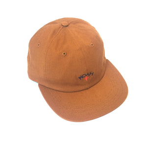 Noah - Caramel Tan Core Logo Hat