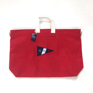Noah - Red Canvas Holdall Bag