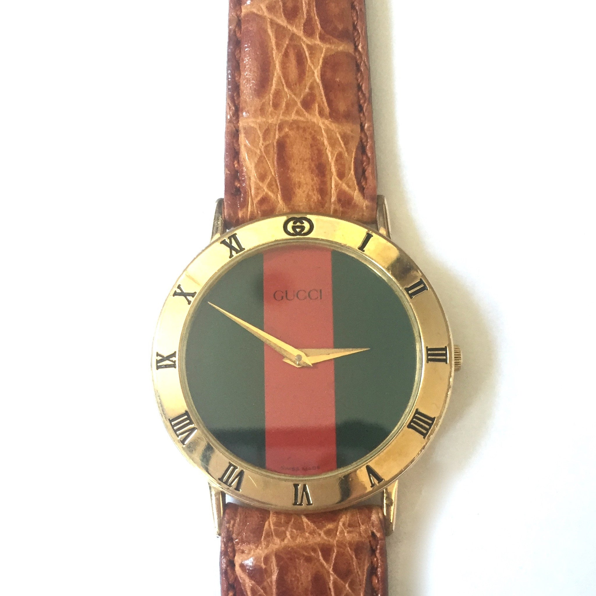 Gucci - Men's 3000M Web Stripe Watch