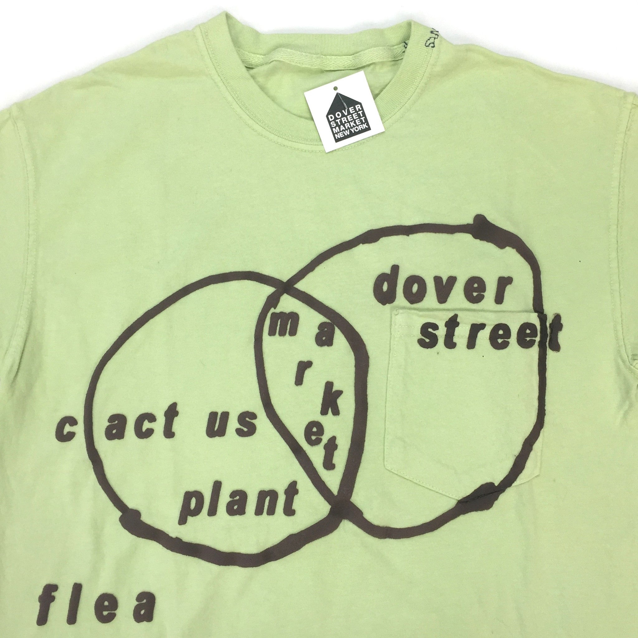 Cactus Plant Flea Market x DSM - Sage 'Connectivity' T-Shirt