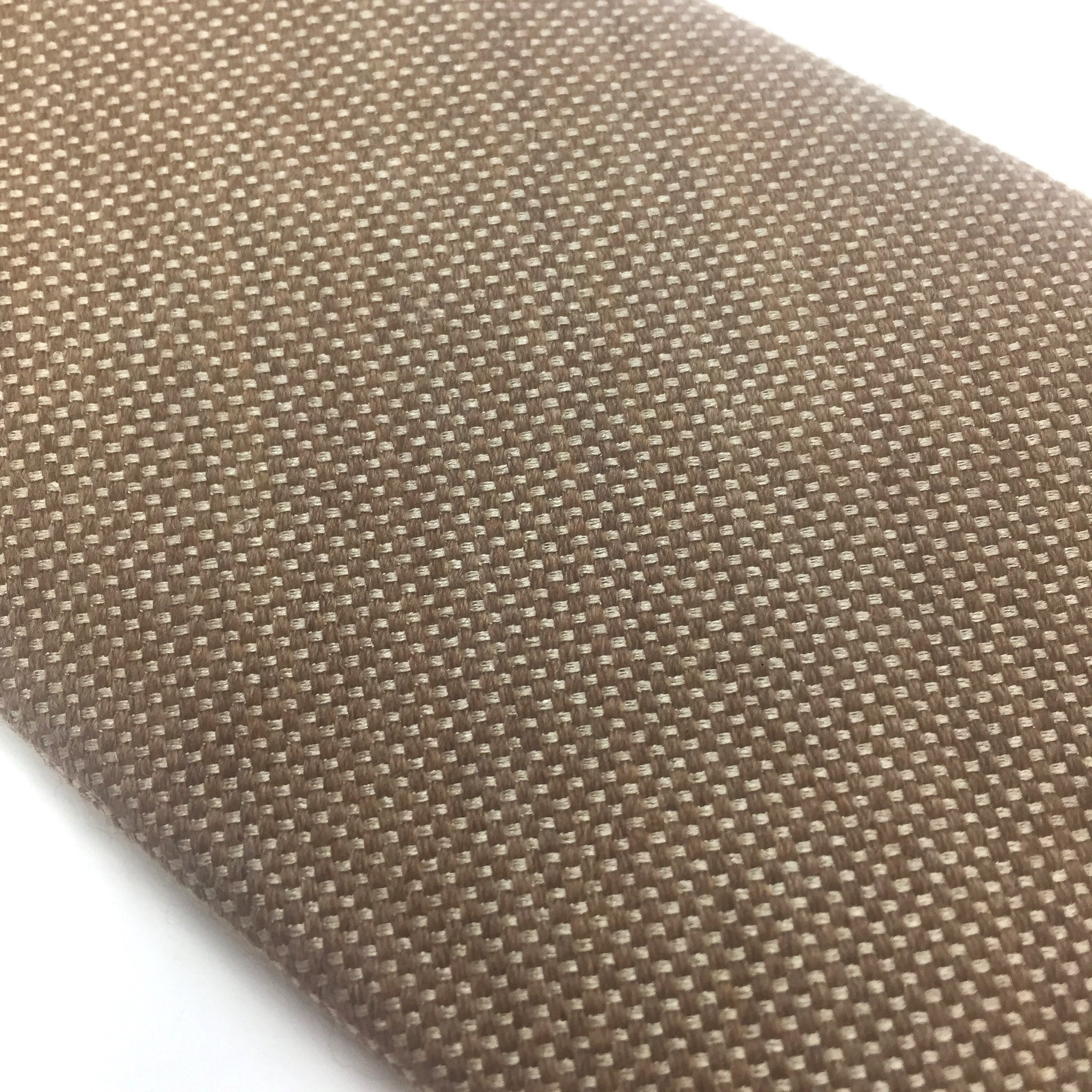 Isaia - Brown Basket Woven Wool Tie