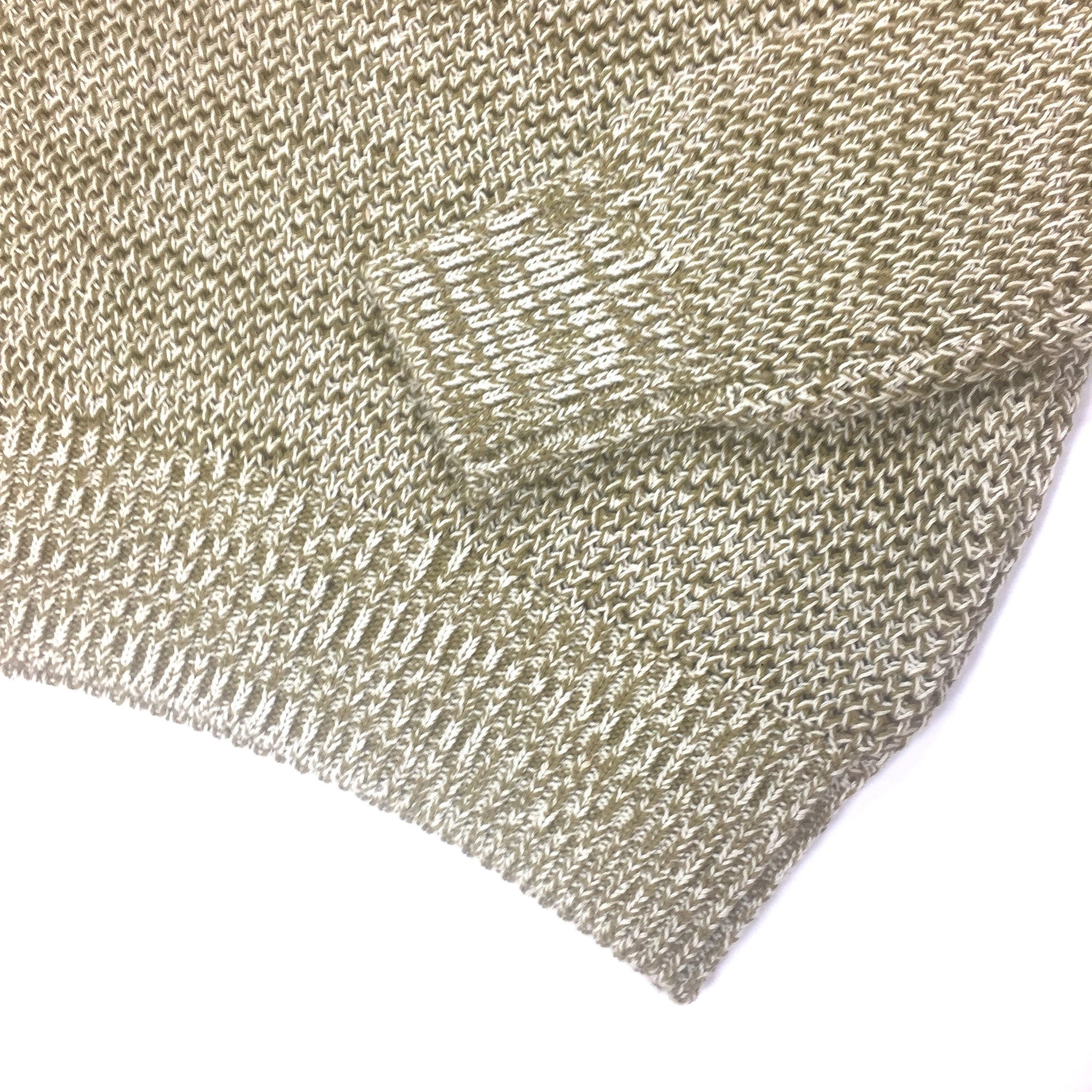 Belstaff - Olive & Beige Knit Sweater