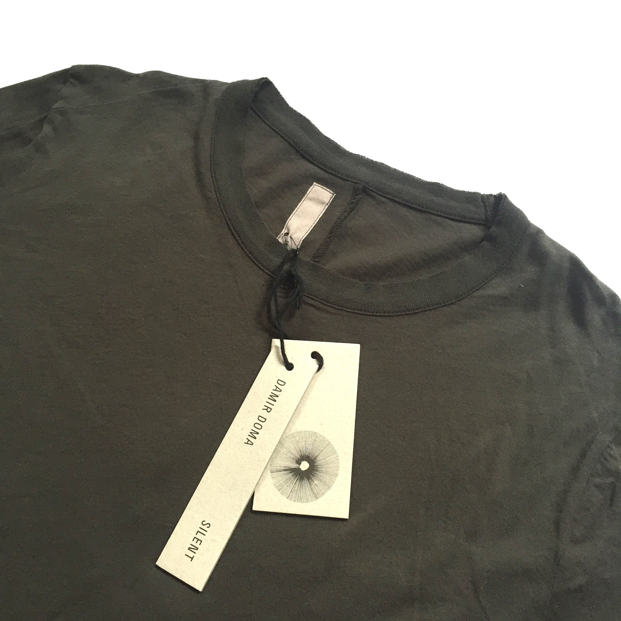 Damir Doma - Caviar Gray Long T-Shirt