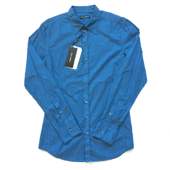 Dolce & Gabbana - Blue Button Down Shirt