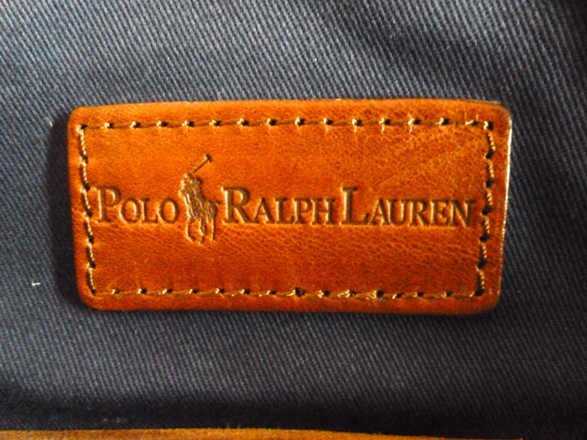 Polo Ralph Lauren - Indigo Canvas & Leather Duffle