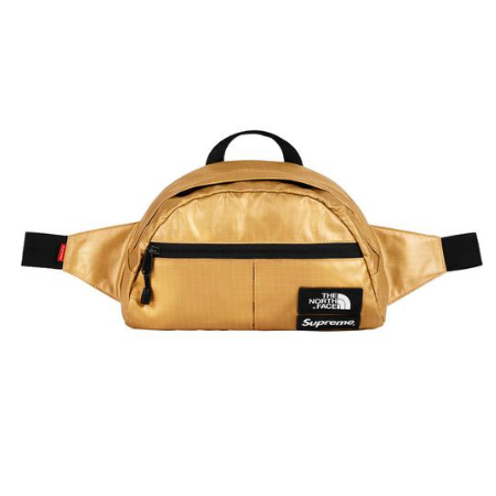 Supreme x The North Face - Metallic Waist Bag (Gold)