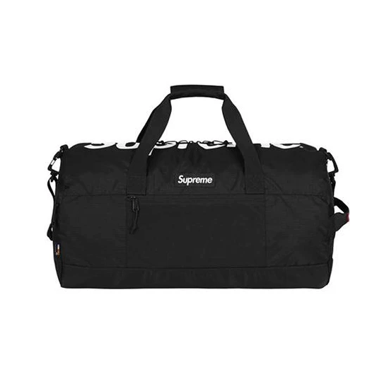Supreme - Black Box Logo Duffle Bag (SS17)