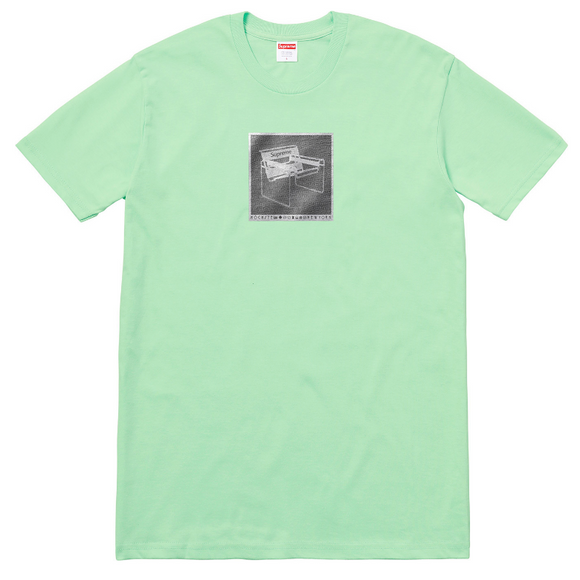 Supreme - Chair Logo T-Shirt (Lime)