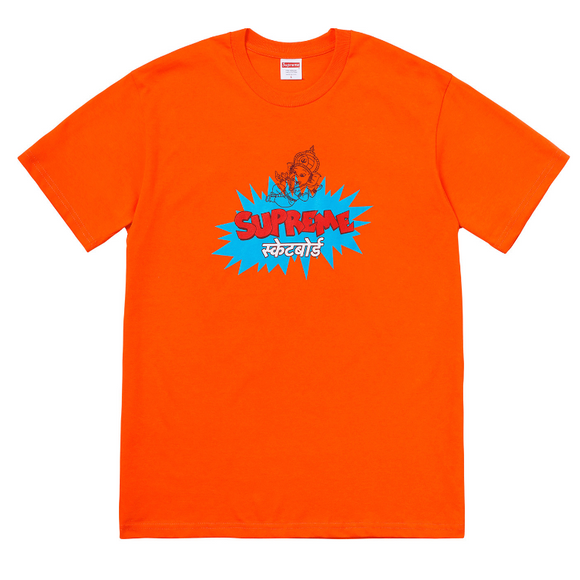 Supreme - Ganesha Logo T-Shirt (Orange)