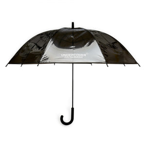 Undercover - Logo Print Transparent Umbrella (Black)