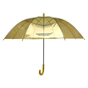Undercover - Logo Print Transparent Umbrella (Yellow)