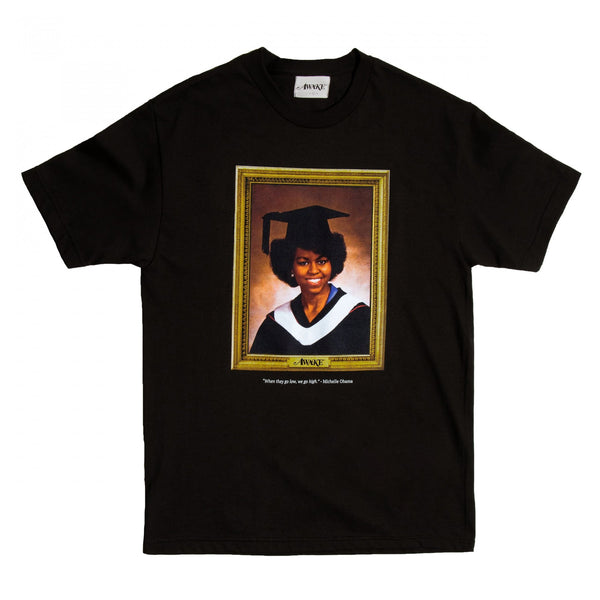 Awake NY - Black Michelle Obama Portrait T-Shirt
