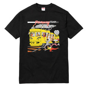 Supreme - Black Limonius 'Punany Train' T-Shirt