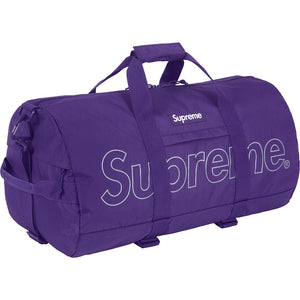 Supreme - Purple Box Logo Duffle Bag (FW18)