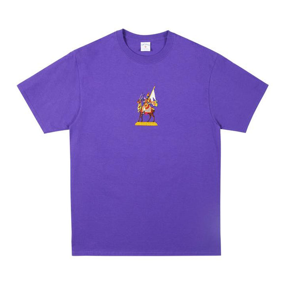 Noah - Wind God Embroidered T-Shirt (Purple)