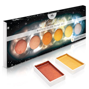 Metallic Komorebi Watercolor Paint Set