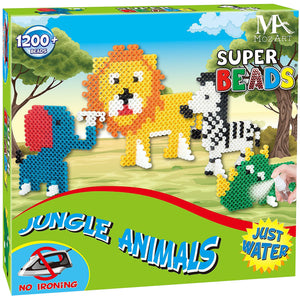 Super Aqua Bead Play Set - Jungle edition