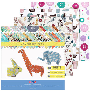 Origami Adventure Pack - 120 Sheets