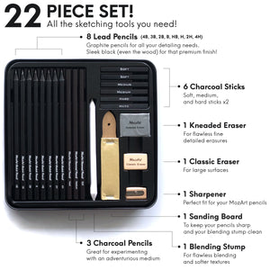 Sketch Set - 22 Piece Essential Artist Set
