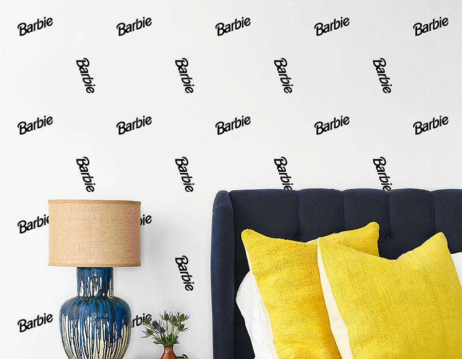 Introducing the Barbie™ X Wallshøppe Wallpaper Collaboration - Barbie™ Wallpaper Available Exclusively Through Wallshøppe!