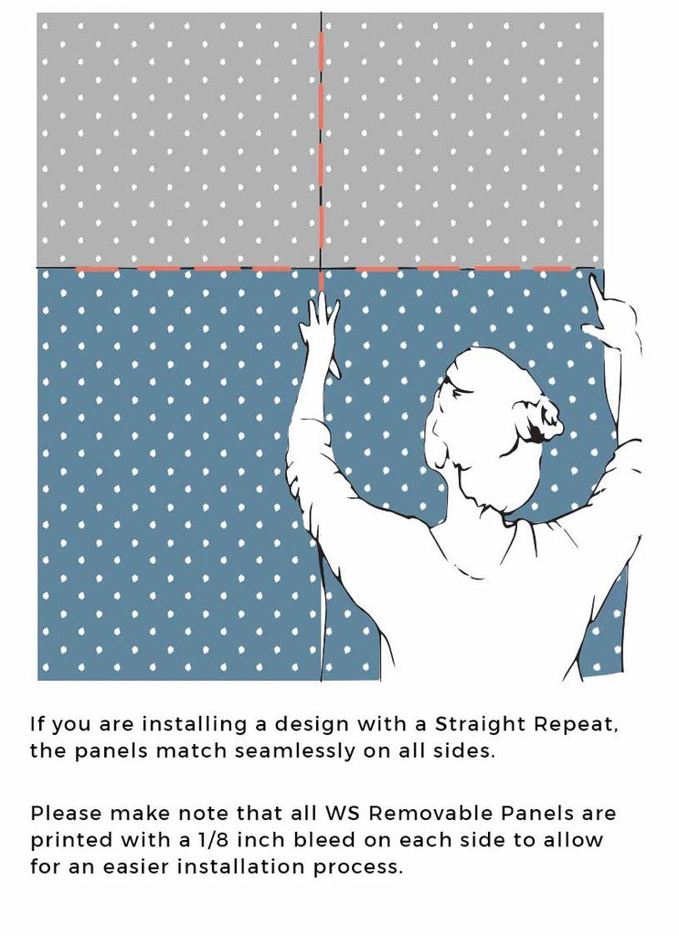Removable Wallpaper Panel Install