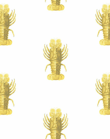 jack the crustacean lobster themed under the sea removable wallpaper 2