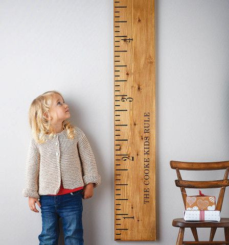 height ruler to measure your child as they grow