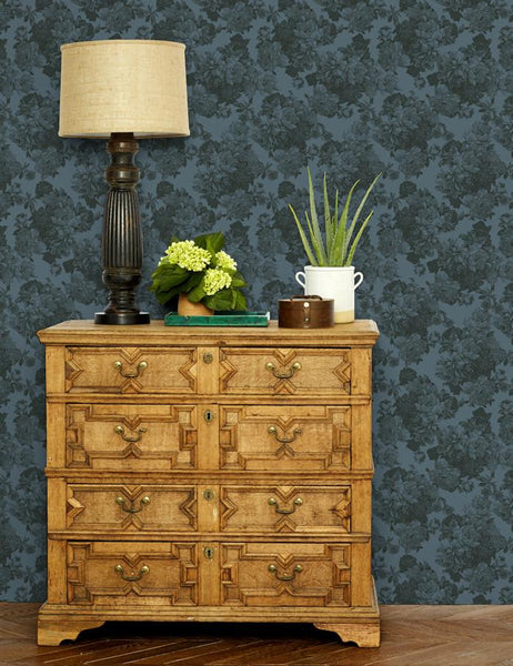 Barbara Ann Wallpaper - Gray - Wallshoppe