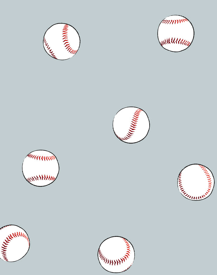 Baseball Toss Wallpaper - Elephant - Wallshoppe