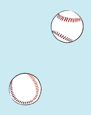 Baseball Toss Sky  Wallpaper