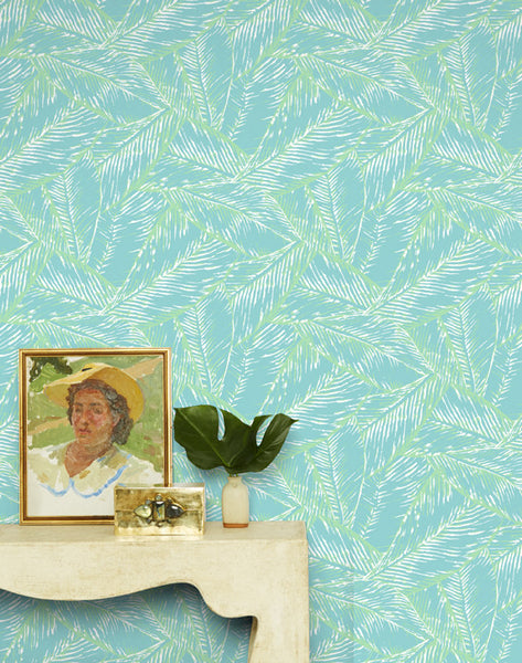 Best Fronds Removable Wallpaper - Caribbean - Wallshoppe