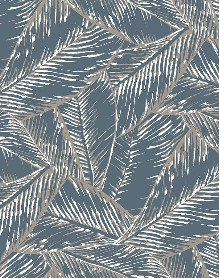 Best Fronds Gray  Wallpaper