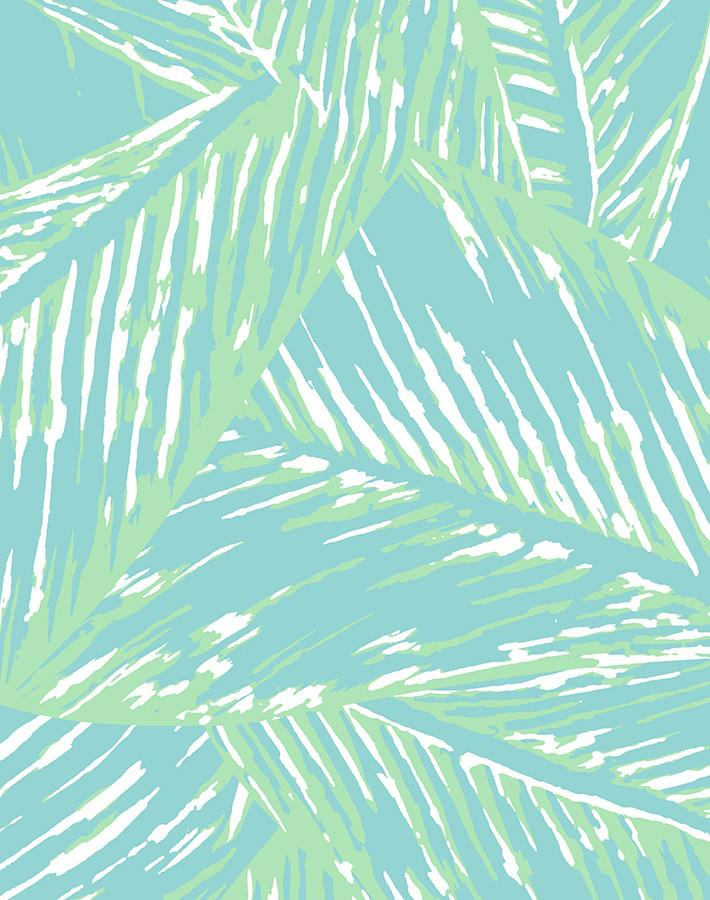 Best Fronds Wallpaper - Caribbean - Wallshoppe