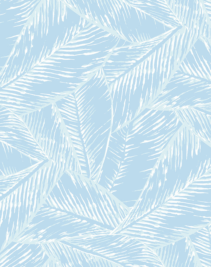 Best Fronds Removable Wallpaper - Sky - Wallshoppe