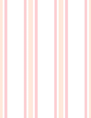 Between The Lines Peach Pony Pink  Wallpaper