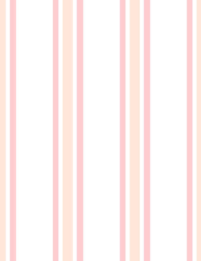 Between the Lines Removable Wallpaper - Peach - Wallshoppe