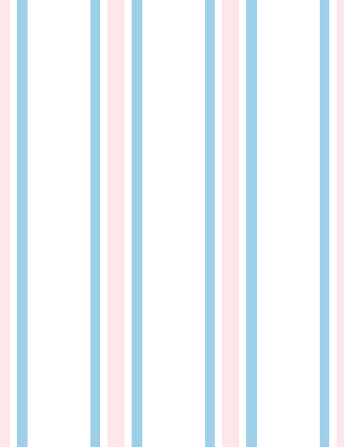 Between the Lines Removable Wallpaper - Powder Blue - Wallshoppe