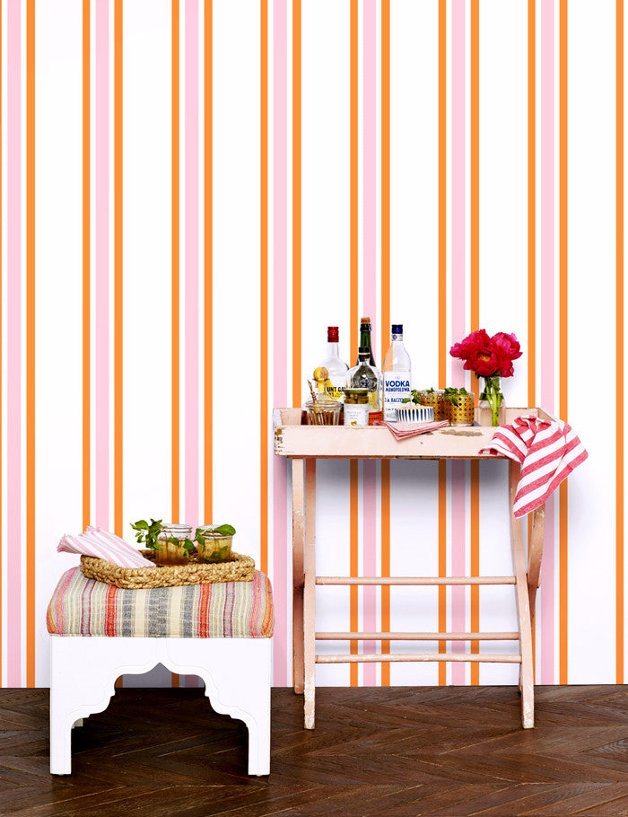 Between the Lines Removable Wallpaper - Pushpop - Wallshoppe