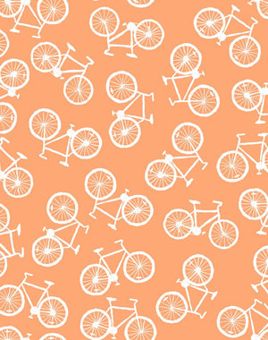 Bicycles Creamsicle  Wallpaper